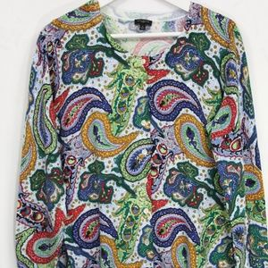 Talbots Plus Size Cardigan Sweater sz X Woman